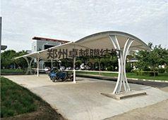 郑州中原区五龙口污水场膜结构车棚