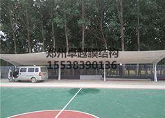 郑州中交一局东三环膜结构车棚