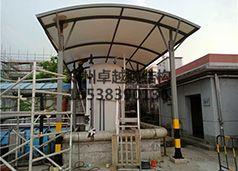 浙江衢州化工厂酸罐膜结构顶棚