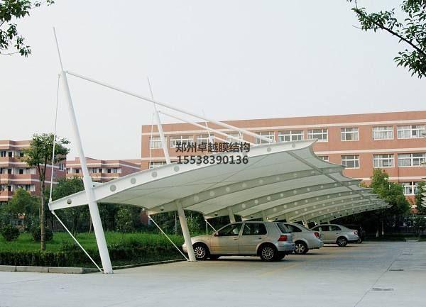 湘潭膜结构车棚【湘潭交通发展集团等】施工案例