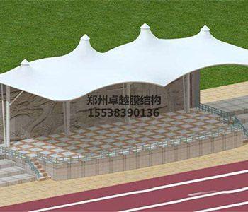 西安膜结构看台【西安市艺术学校等】设计施工案例