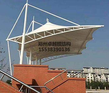 咸阳膜结构看台【泾华学校等】设计施工案例