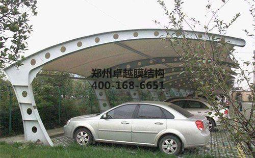 锦州膜结构车棚【宏远合成材料公司等】施工案例
