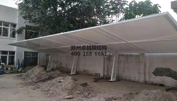 濮阳公安局膜结构汽车棚