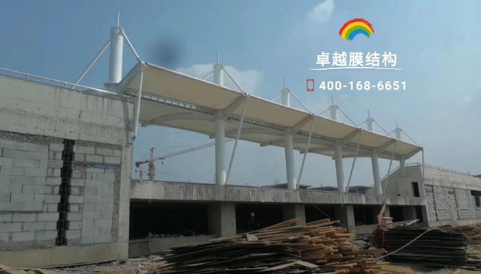 洛阳职业技术学院膜结构看台
