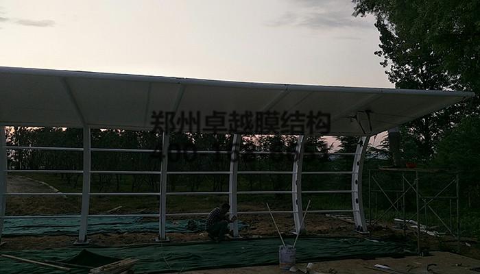 郑州西三环膜结构车棚