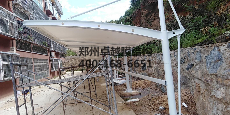 信阳新县膜结构车棚