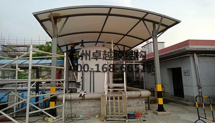 浙江衢州啤酒厂膜结构罩棚