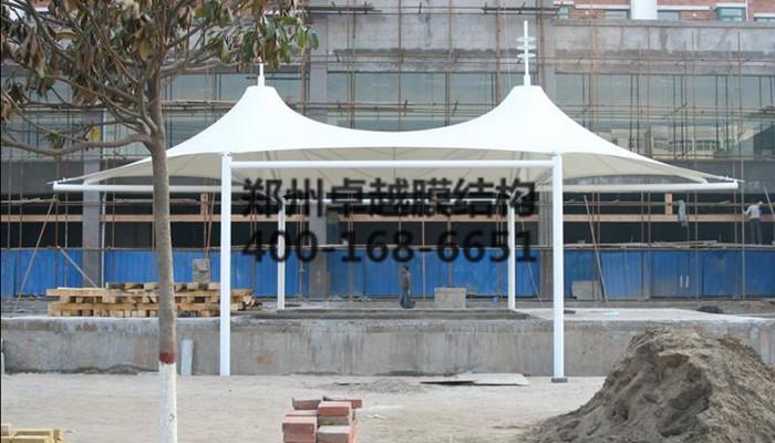 北京房山博物馆双连帽膜结构景观