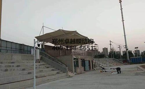 梧州膜结构看台【梧州学院等】设计施工案例