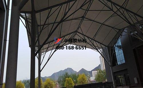 承德广场膜结构顶棚/罩棚工程动态