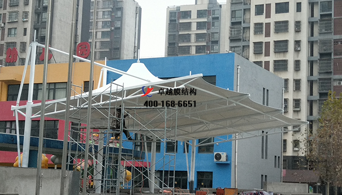 河北唐山实验学校膜结构看台