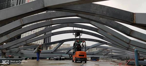 上海云汇广场ETFE充气膜结构项目启动