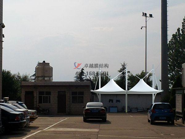石河子膜结构车棚【石河子开发区神内食品有限公司等】设计施工案例