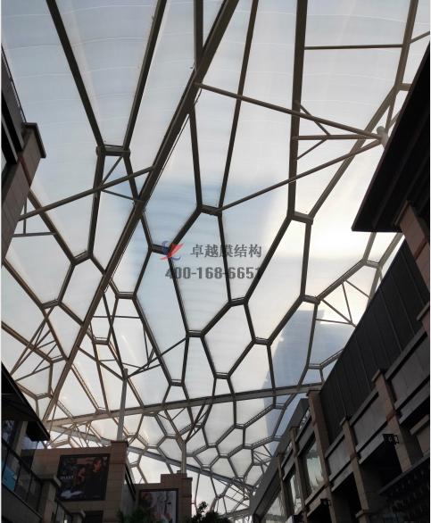 西安老城根ETFE膜结构设计施工案例