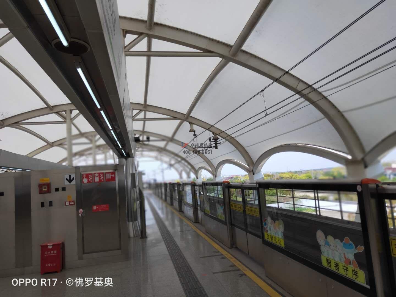 上海浦东新区远东大道地铁站PTFE膜结构