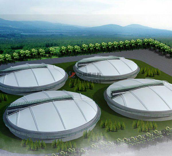 云南商业街膜结构顶棚案例图片