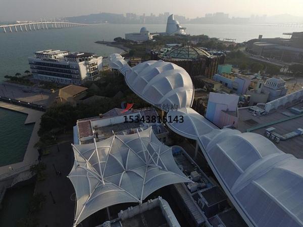 上海16号码头膜结构工程