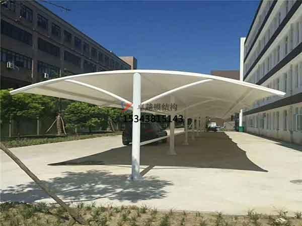 石河子市膜结构雨棚工程设计施工案例