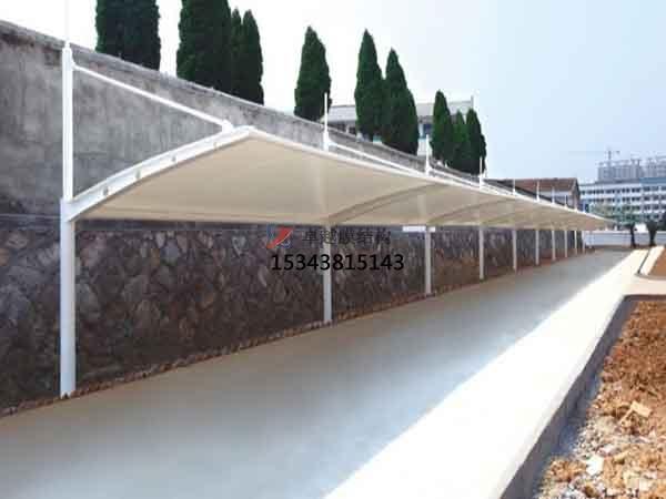 库尔勒市膜结构雨棚工程设计施工案例