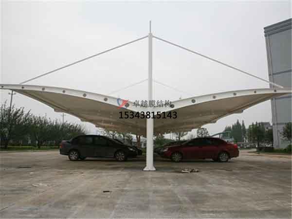 伊犁市膜结构雨棚工程设计施工案例
