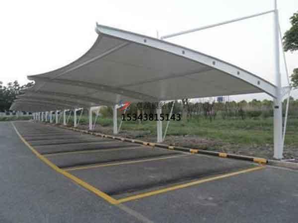 塔城市膜结构雨棚工程设计施工案例