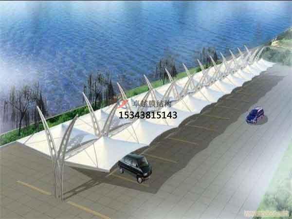 阿勒泰市膜结构雨棚工程设计施工案例