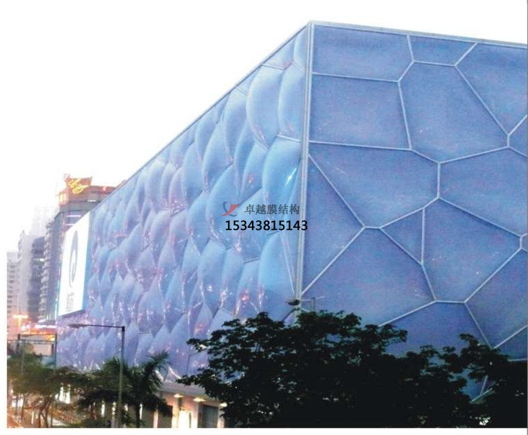 ETFE膜结构屋面施工