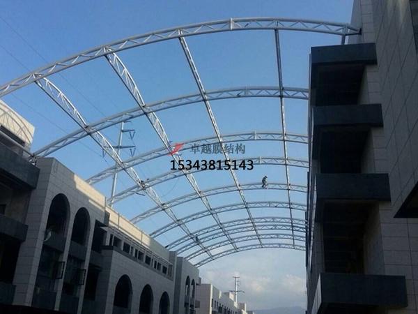 商业街膜结构