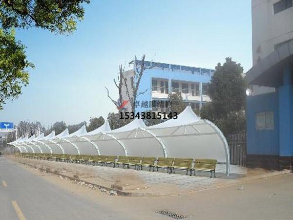 茂名膜结构雨棚工程设计施工案例