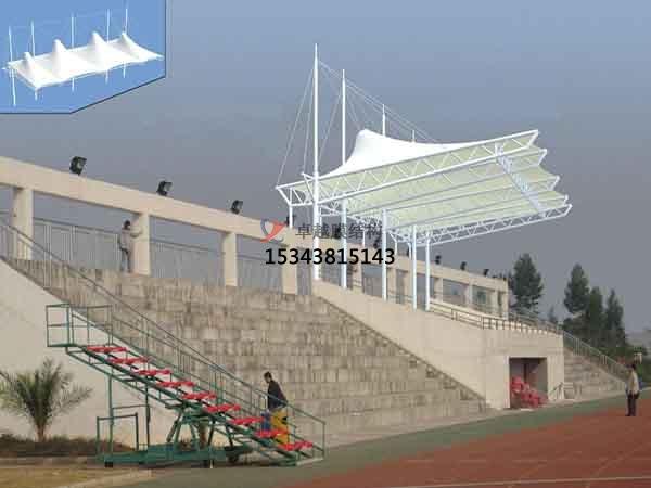 福建膜结构雨棚工程设计施工案例