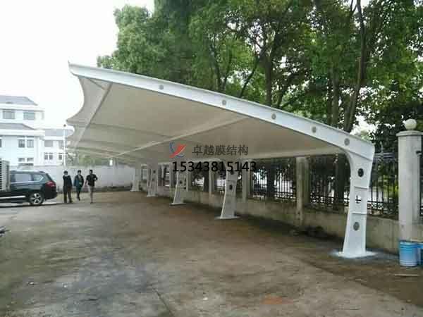 无锡膜结构雨棚工程设计施工案例