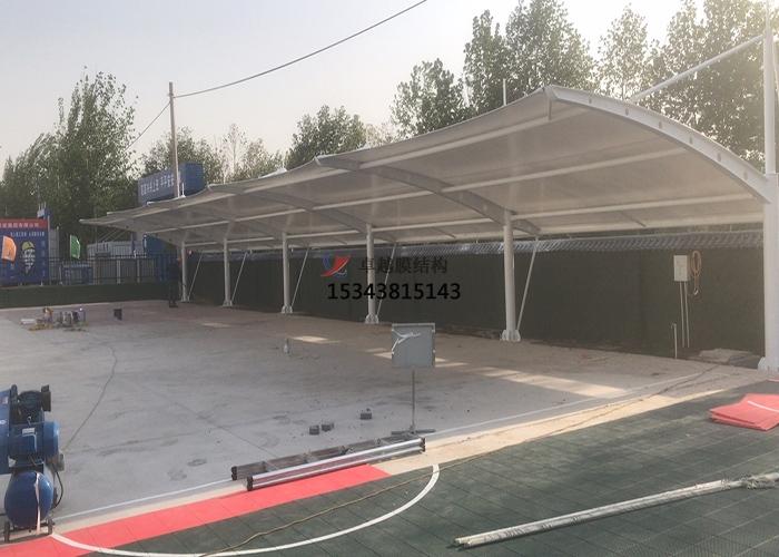 新乡廉政教育基地膜结构车棚