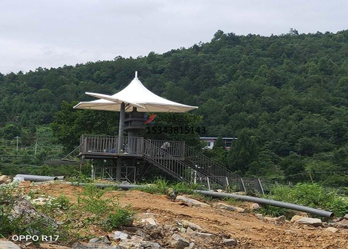 湖南湘西凤凰县景区膜结构