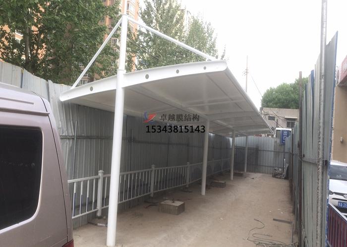 郑州中石化北环加油站车棚
