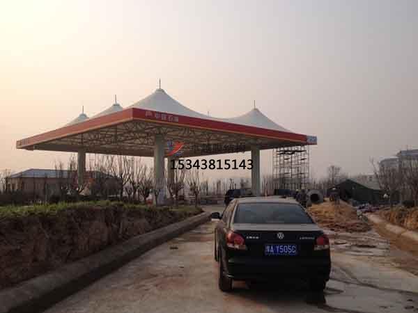 南宁市加油站膜结构遮阳棚【生产销售】