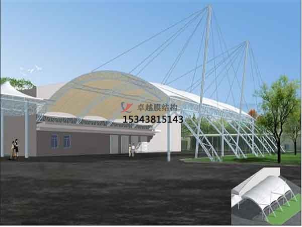 昆明市加油站膜结构遮阳棚【建筑公司】