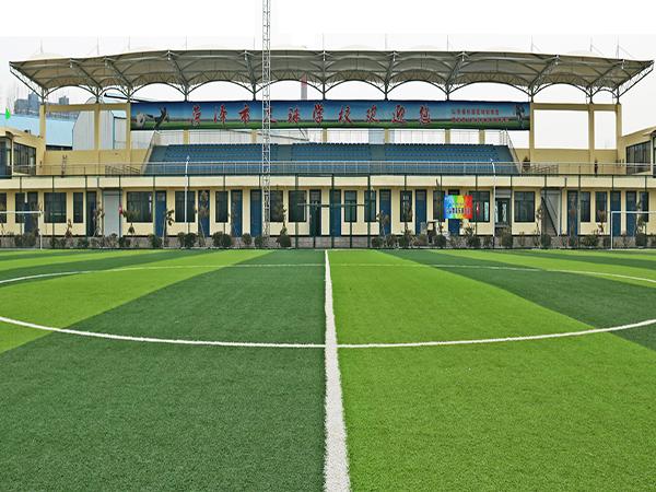 山東菏澤足球學校膜結构看台