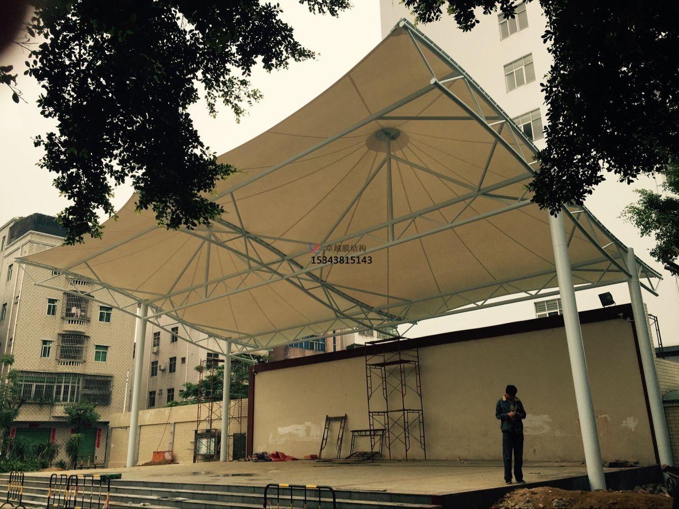 北京膜结构舞台【设计施工】