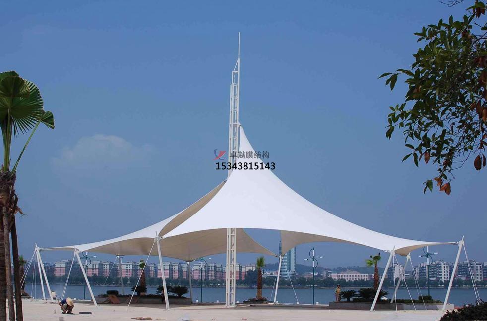 沈阳松花江公园膜结构景观