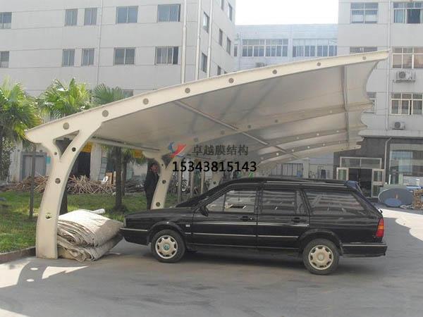 深圳膜结构充电桩车棚【遮阳棚厂家】