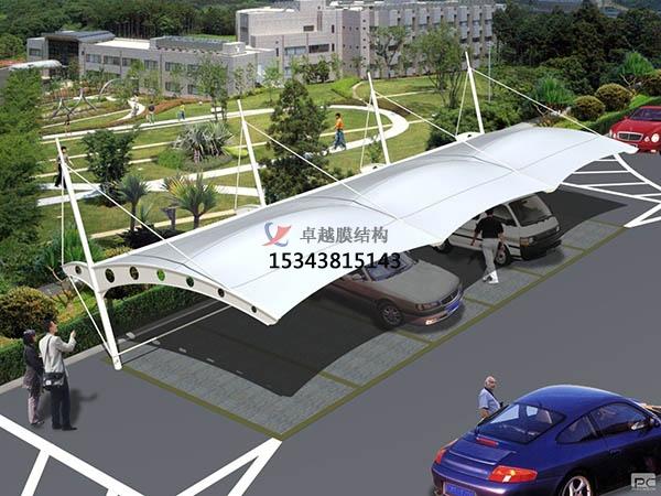 膜结构停车棚的施工设计工艺