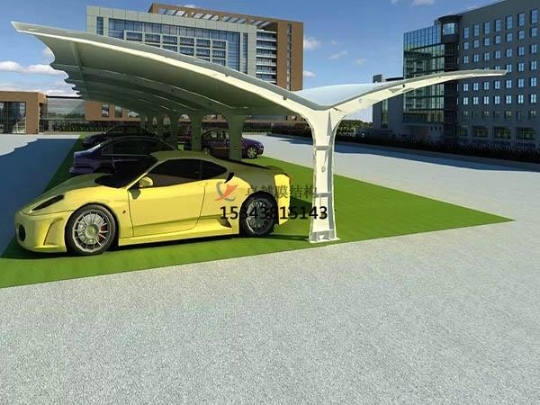 膜结构车棚与自行车停车棚有哪些共同特点