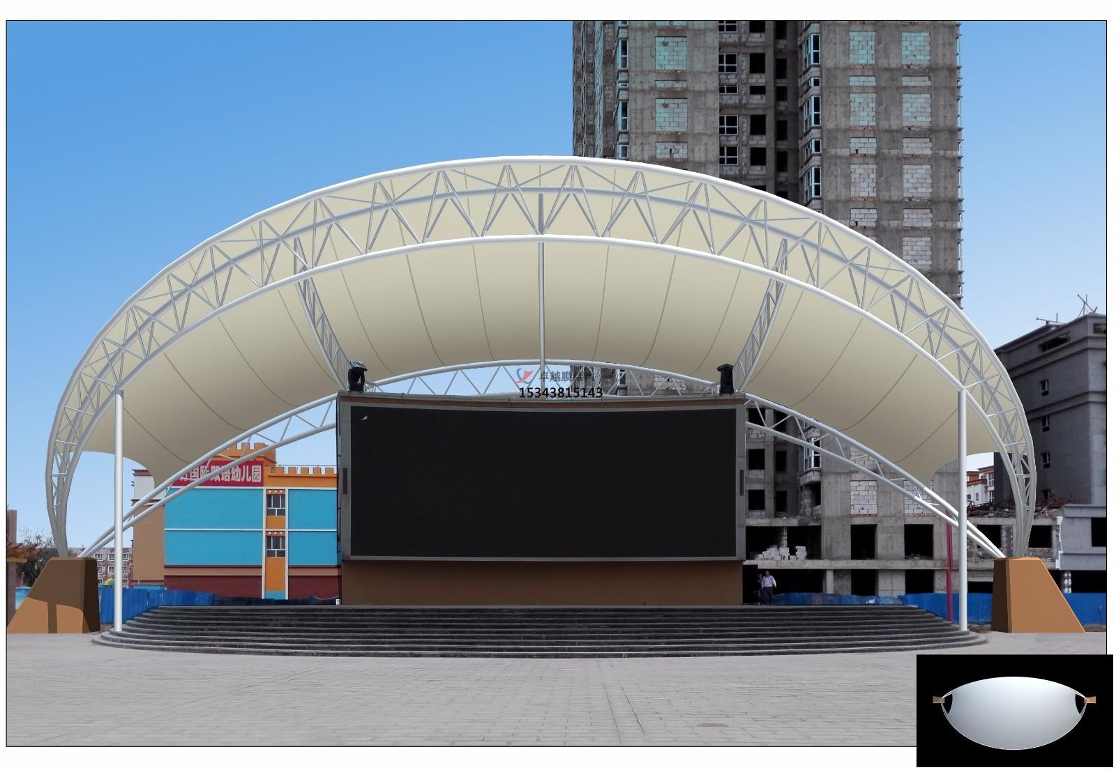 北京膜结构景观【张拉膜景观】承包安装价格