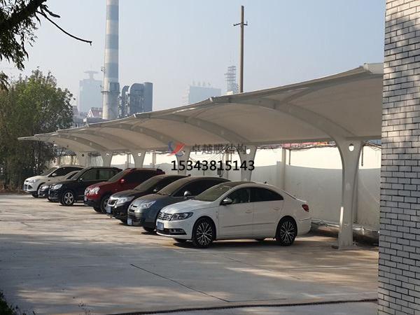 深圳膜结构【充电站雨棚】停车棚设计安装