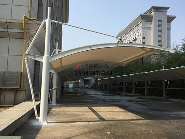 巴彦膜结构【充电站防雨篷】停车棚设计安装