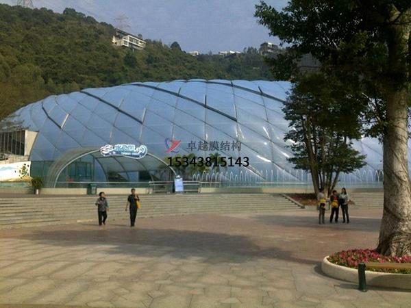 ETFE膜结构幕墙工程