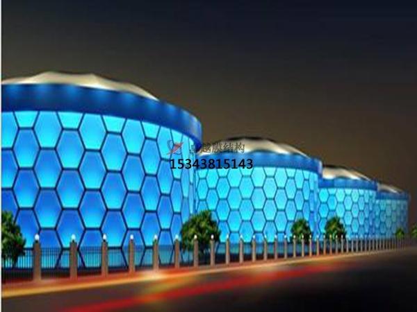 ETFE充气膜结构设计施工