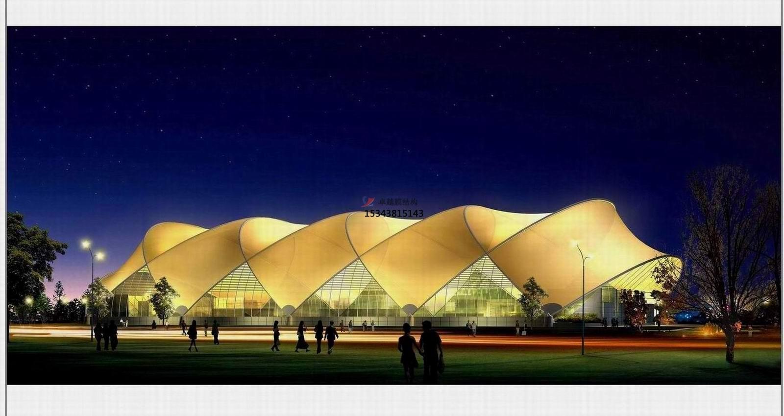 Ptfe膜结构体育场馆