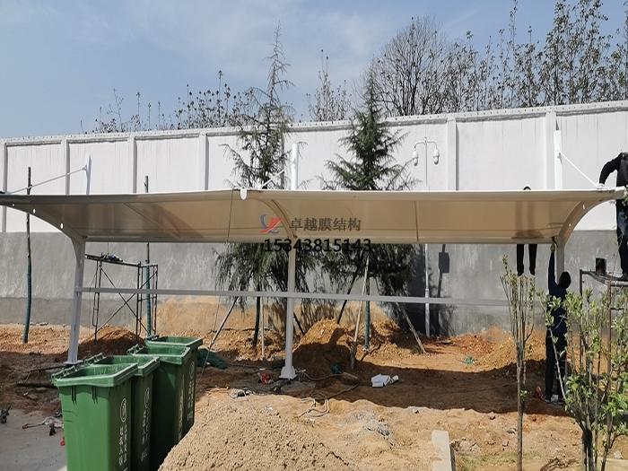 郑州新密中原环保膜结构充电站